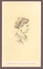 ALGER - Photo CDV Albumine vintage par J.Geiser c.1870