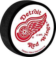 Detroit Red Wings NHL Team Logo Foam Mini Hockey Puck