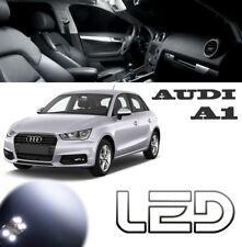 AUDI A1  Kit 5 Ampoules LED Blanc éclairage Habitacle plafonnier coffre Boîte