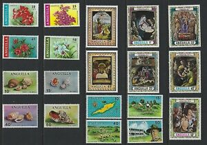 G744 Anguilla / A Small Collection Early & Modern Lhm
