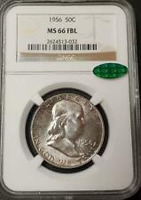 1956 FRANKLIN HALF DOLLAR - MS 66 FULL BELL LINES - NGC - CAC CERTIFIED! - #032