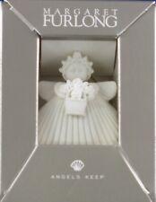 "Margaret Furlong - 2"" Flower Basket Angel (Mib & Signed) Free Shipping"