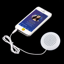 White 3.5mm Pillow Speaker for MP3 MP4 Player For iPhone For iPod CD Radio hu