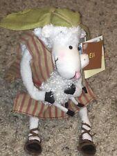 "Really Woolly ""Eli"" Plush Shepherd Lamb Bnwt Hallmark Christmas Collectible"