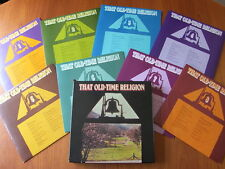 VINYL LP RECORD : THAT OLD-TIME RELIGION 8 LP BOX SET - VGC VINTAGE