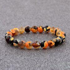 Fashion Lucky Multi Colour Beaded Cuff Charm Bangle Natural Stone Bracelets