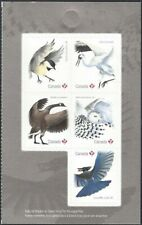Canada BK 705     BIRDS OF CANADA    Brand New 2018 Half Booklet Issue