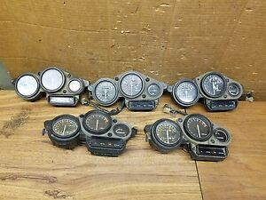 S~ OEM 1989-1999 Yamaha FZR600 FZR1000 Speedometer Tachometer Gauges Cluster