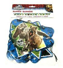 Jurassic World Happy Birthday Dinosaur Cardboard Jointed Banner 6.1 Feet Long