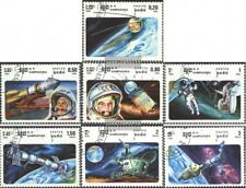 Cambodia 655-661 (complete issue) used 1985 Space