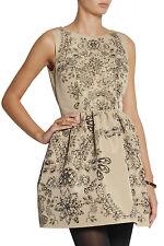 ❤️NWT RED VALENTINO Jewel Print Faille Dress IT 40 US 2