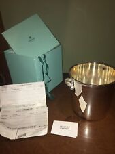 VINTAGE  Ercuis Champagne Ice Bucket Barware 94 Grams Silver $1000.00 New