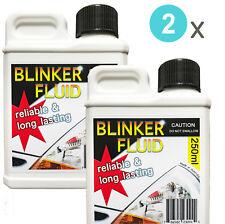 2x Blinker Light Fluid - Funny Joke Gag Prank - 250ml Bottles - Australian Made