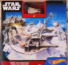 BRAND NEW Hot Wheels Star Wars Hoth Echo Base Battle Playset