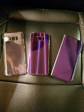 Set of 3 Purple cases for Samsung Galaxy S8+