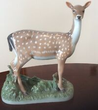 "Royal Copenhagen 465 Doe female deer Very Rare 1249465 10"" tall retir