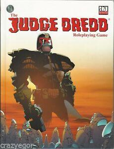 Judge Dredd - 2000AD RPG Core Rules Hardcover D20 Mongoose Publishing *FS