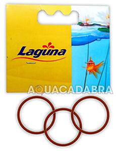LAGUNA RED O-RING PT743 PRESSURE FLO PACK OF 3 SEALS POND GARDEN KOI FISH