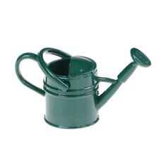 1:6/1:12 Metal Watering Can Dolls House Miniature Gardens Home Decors SI