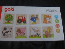 Goki 56890 Memospiel Bauernhof bunt ()