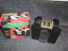 Old Vtg Casino Automatic Card Shuffler Shuffles 6 Decks Battery Operated #St3186