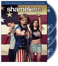 Shameless Showtime TV Series Complete Seventh Season 7 Seven NEW 3-DISC DVD SET