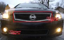 Fits 07-10 Nissan Sentra Black Mesh Grille Insert