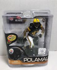 McFarlane Football Sportspick # 29 Steelers Troy Polamalu Safety Variant Retro
