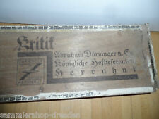 25096 Zigarrenkiste Abraham Dürninger Kritik Alarm Kaiser Wilhelm 1913 Patriotik