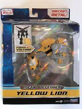 YELLOW LION, Voltron Metal Defenders Figure, Legendary Die Cast Playmates, NEW!