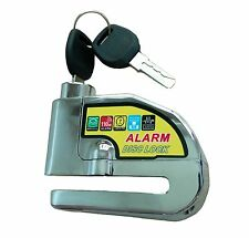 Anti-thief Motorbike Wheel Alarm Disc Brake Lock for Motorcycle Scooter Bicycle