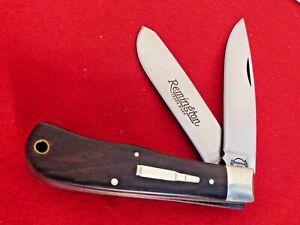 Remington USA cocobolo R1128 Trapper bullet 1989 mint in box knife