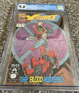 Marvel X-Force #2 CGC Key Issue 1st Weapon X, Juggernaut 2nd Ever Deadpool App