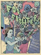 Foo Fighters Poster 10/26/2017 Birmingham AL Signed & Numbered #/100 A/E
