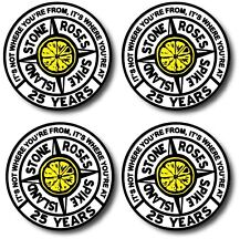 Stone Roses Inspired coasters - Spike island - Set of 4 - High quality