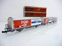 ROCO N 1:160 3 teiliger Schiebewandwagen Zug Hbis mit Bb COPO / MIDI 2-achsig