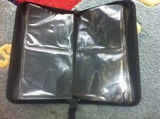 1 Top Qulaity Black Nylon 68 CD DVD Wallet Case Holder JS68-BLKSLV