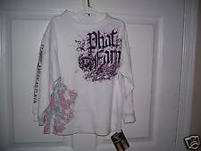 PHAT FARM GIRLS LONGSLEEVE SHIRT 4 NWT
