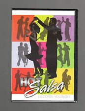 Hot Salsa Lessons - Vol 1 (DVD) English Or Spanish Language! Ken Baldwin, NEW!