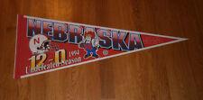 1994 Nebraska Cornhuskers National Champs pennant 12-0