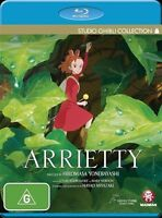 Arrietty (Blu-ray, 2012) Region B  New Sealed
