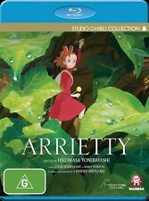 Arrietty (Blu-ray, 2012) - Brand New and FREE POSTAGE