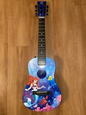 First Act The Little Mermaid 31� Acoustic Blue Guitar Ages 4-6 Beginners Vguc