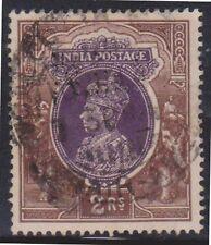 (K109-49) 1937 India 2R purple & brown KGVI used (AX)