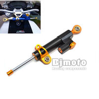 CNC Aluminum Steering Damper Hydraulic Stabilizer for 96-15 Harley Motorcycle