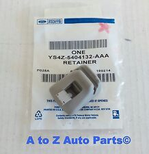 NEW 2000,2001,2002,2003,2004 Ford Focus GREY Sun Visor Retainer CLIP, OEM Ford