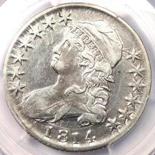 1814 Bust Half Dollar 50C - PCGS XF Details (EF) - Rare Date - Certified Coin!