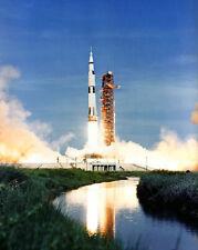Nasa Apollo 15 Raum Fahrzeug Launch 8x10 Silber Halogen Fotodruck