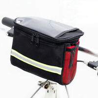 Large Capacity Bike Bicycle Front Handlebar Storage Bag Pouch Pack Waterproof