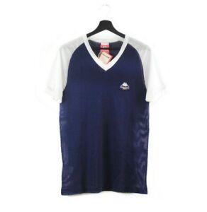 NOS 80s Robe Di Kappa vintage mesh T-shirt tshirt tee unisex Juventus Italy OG